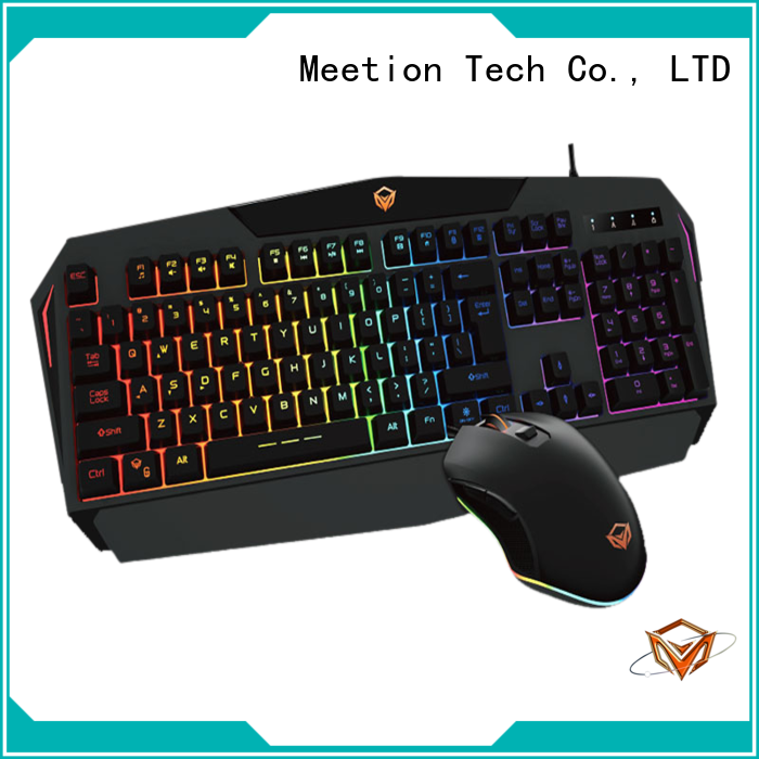 Meetion gaming keyboard bundle factory