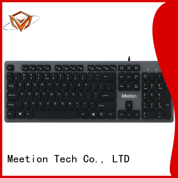 Meetion best best wired keyboard factory