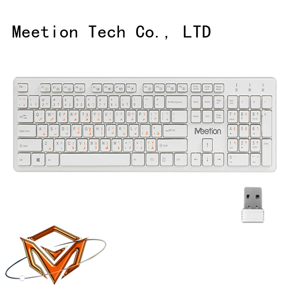 Meetion good wireless keyboard supplier