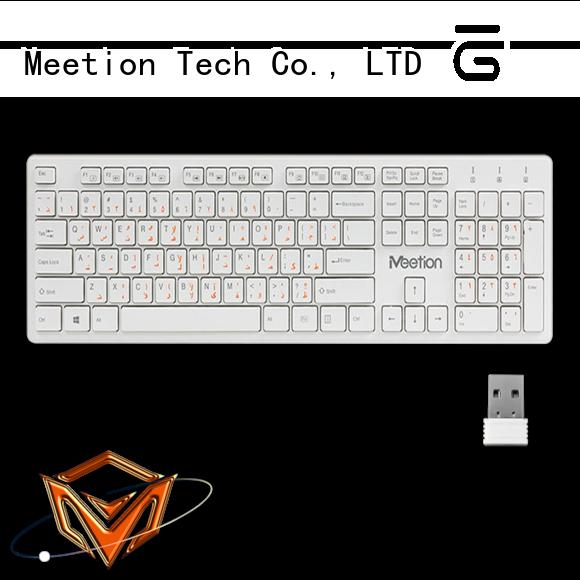 Meetion good wireless keyboard supplier