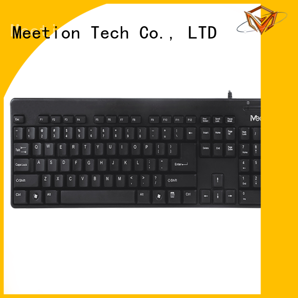 Meetion best best cheap wired keyboard factory