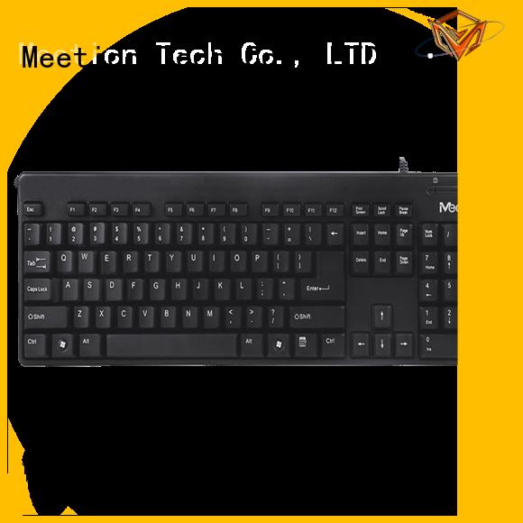 Meetion best best cheap wired keyboard factory