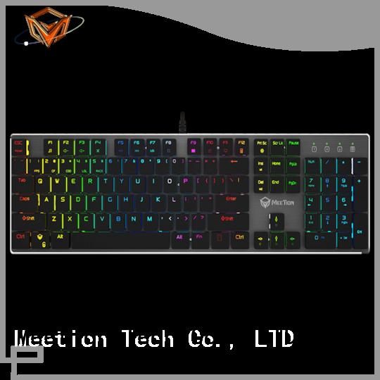 Meetion best rgb keyboard manufacturer