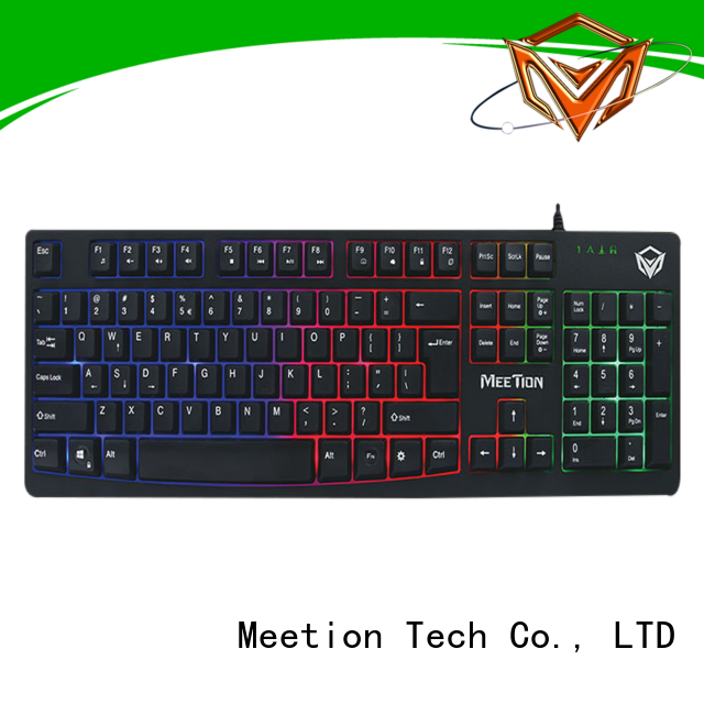 Meetion backlit keyboard factory