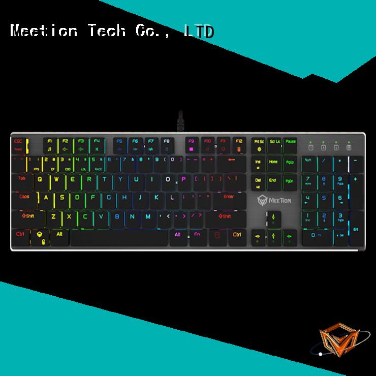 Meetion pro gaming keyboard factory