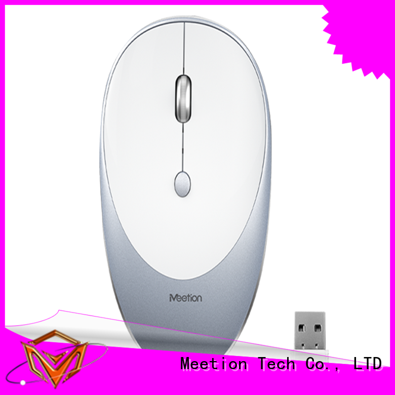 Meetion wireless mouse for sale supplier