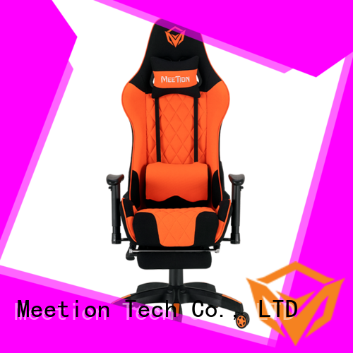 Meetion wholesale gaming chair with wheels manufacturer