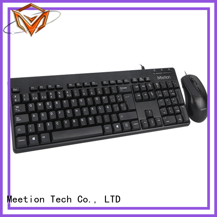 Meetion bulk buy wired keyboard and mouse set company