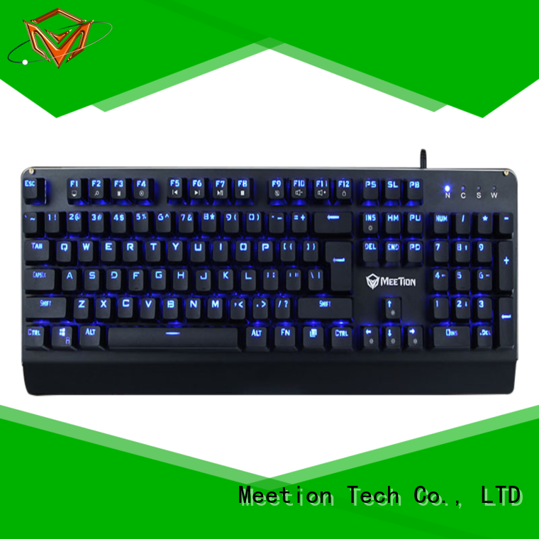 Meetion rgb gaming keyboard supplier