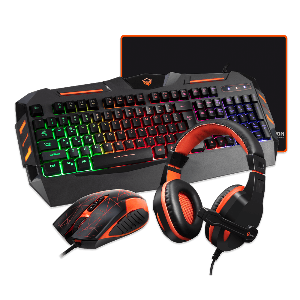 Backlit Gaming Kits 4 in 1 <br>C500