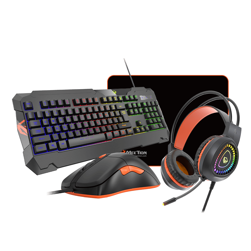 Gaming Keyboard Mouse Headphone Set with Mouse pad <br>C505
