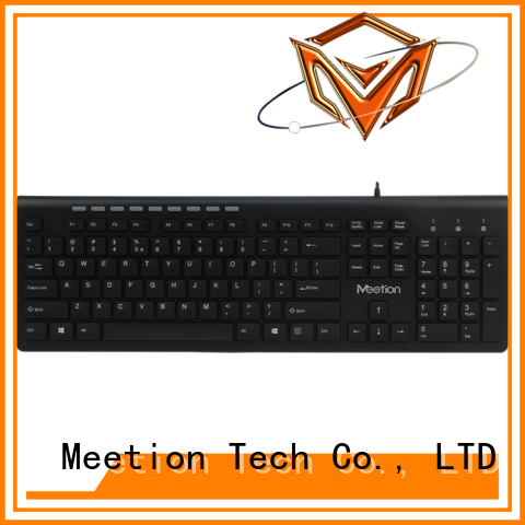 Meetion wholesale wired keyboard with usb hub company