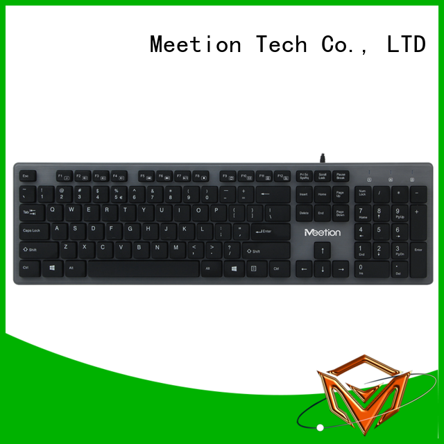 Meetion best best wired keyboard for pc supplier