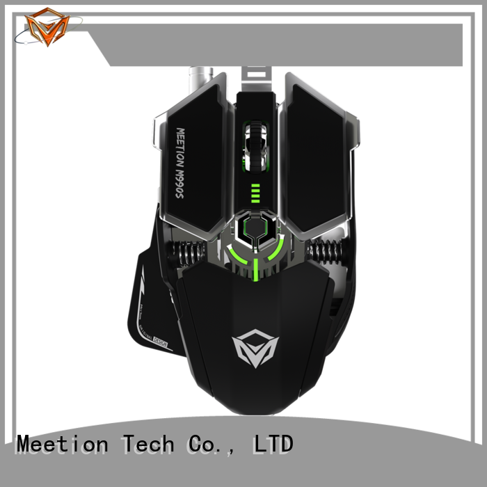 Meetion bulk purchase cool gaming mouse supplier
