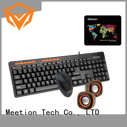 Meetion best wired keyboard and mouse price factory