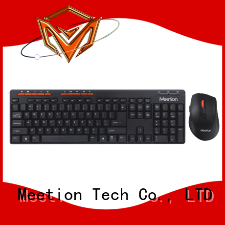 Meetion bulk mini wireless keyboard mouse combo factory