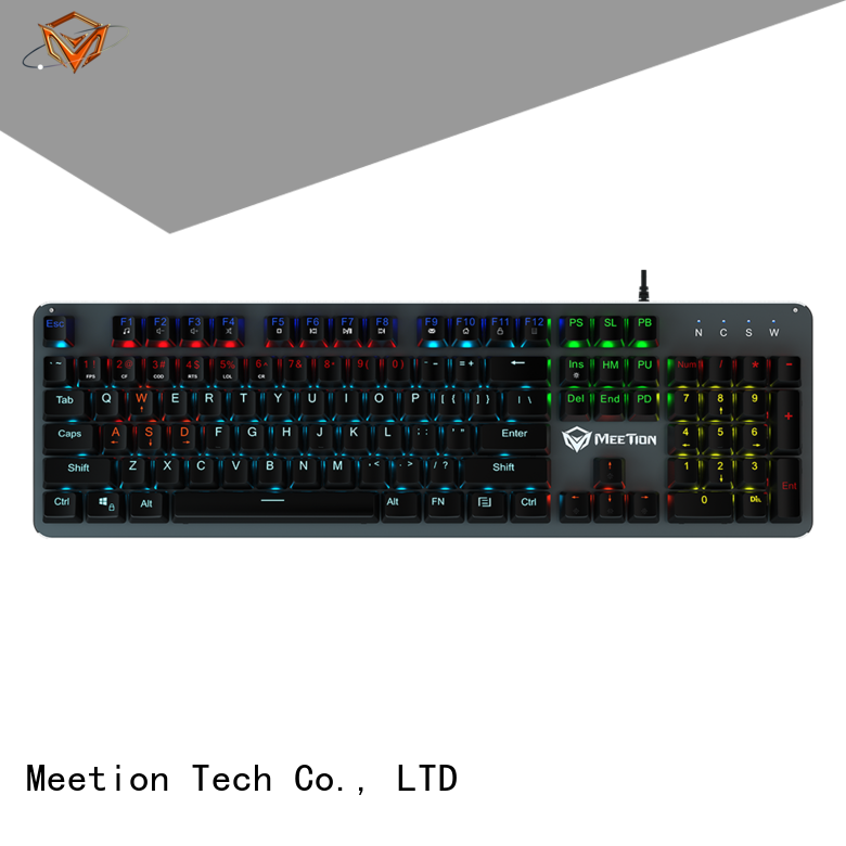 Meetion wholesale light up keyboard company