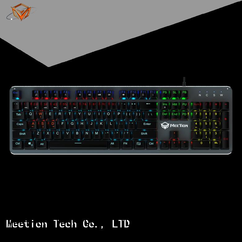 Meetion wholesale light up keyboard company