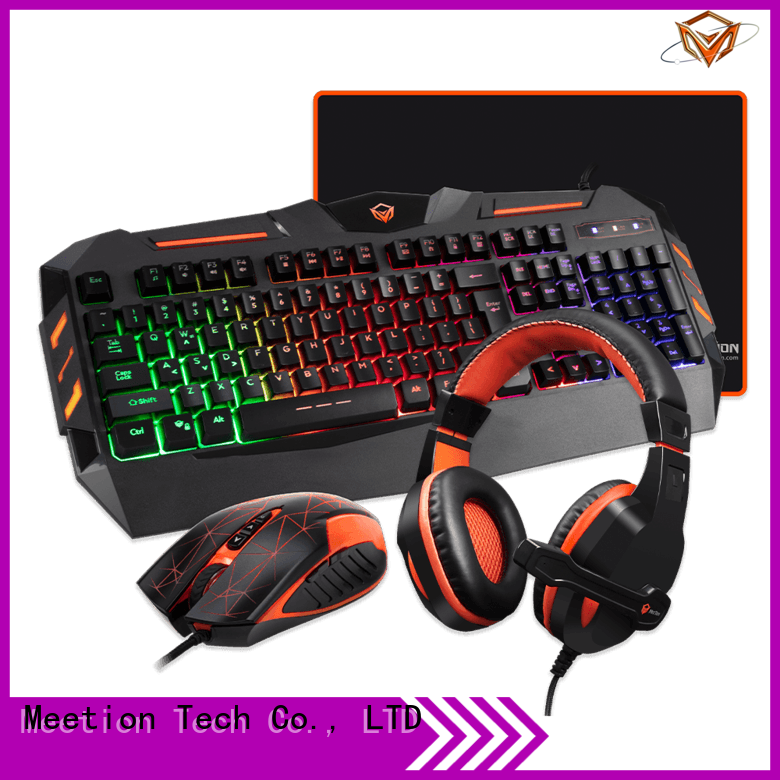 Meetion light up keyboard and mouse factory