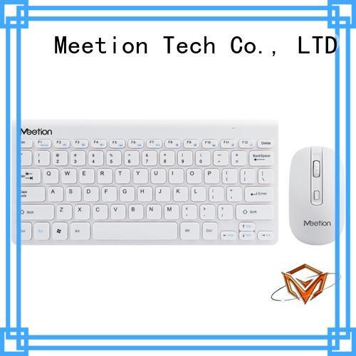 Meetion bulk purchase compact wireless keyboard and mouse combo factory
