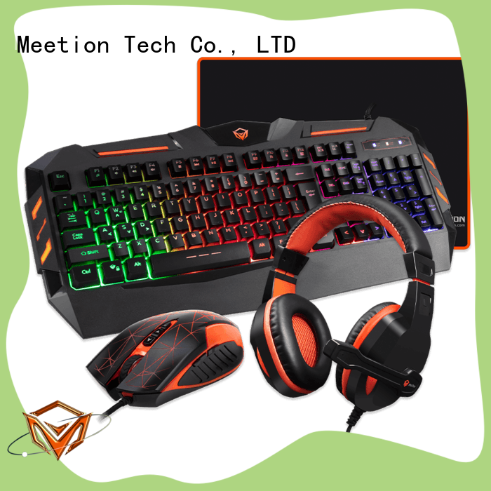 Meetion bulk buy keyboard and mouse set supplier
