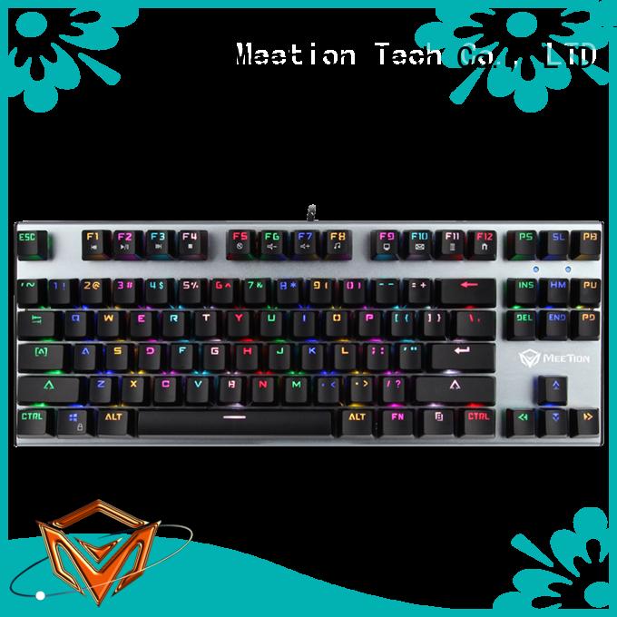 Meetion bulk ergonomic gaming keyboard manufacturer