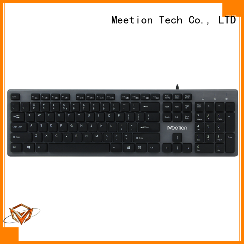 Meetion bulk purchase best office keyboard factory