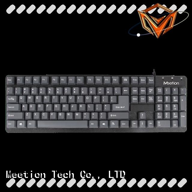 Meetion bulk buy best cheap wired keyboard supplier