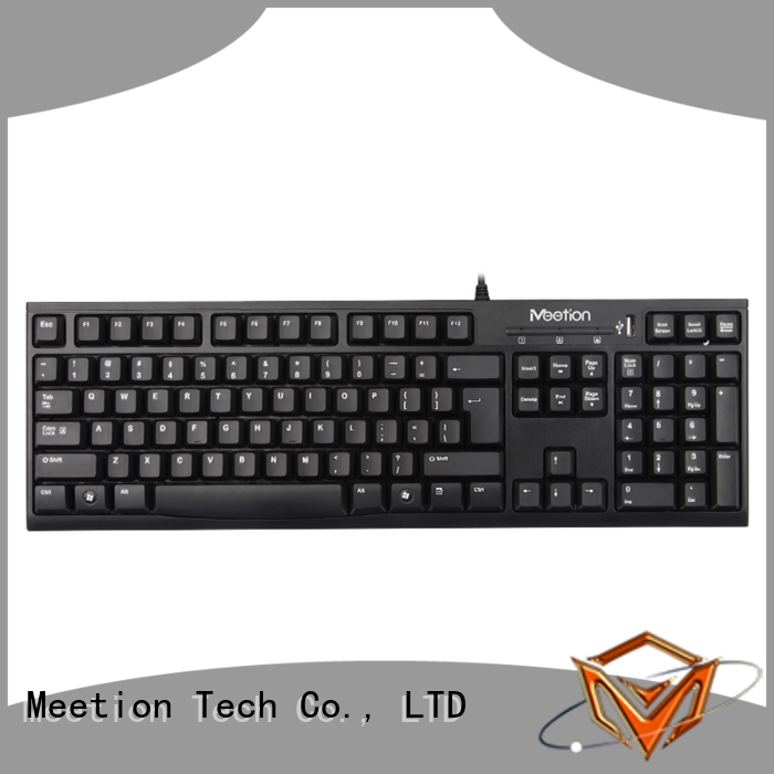 Meetion best wired keyboard for pc company